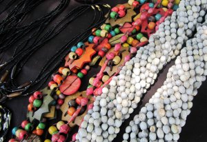 Beads and crafts from Africa