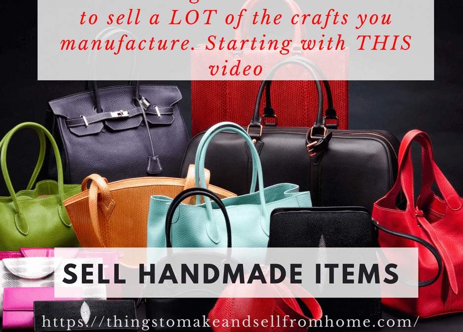 Sell More Crafts – Video training series launched