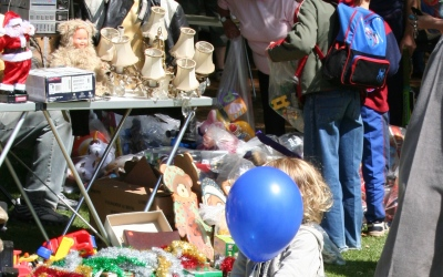 Use Yard Sales and Garage Sales to Move your Old Crafting Items